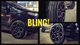 Ford EcoSport Alloys: These are the MADDEST we have seen!