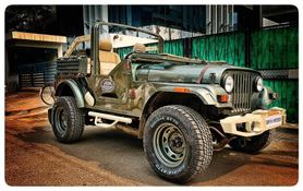 A Custom Made Thar Built Specially For Jawa's 'Punjab Ride' Event
