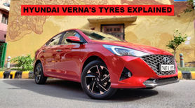 Check Out the Tyres Of All New Verna -2020