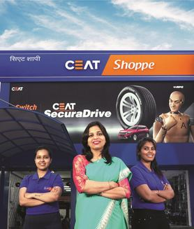 CEAT Tyre Introduces All Women Operated Shoppes